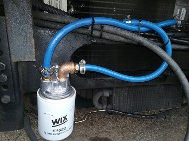 F53 4R100 transmission filter change and flush - iRV2 Forums