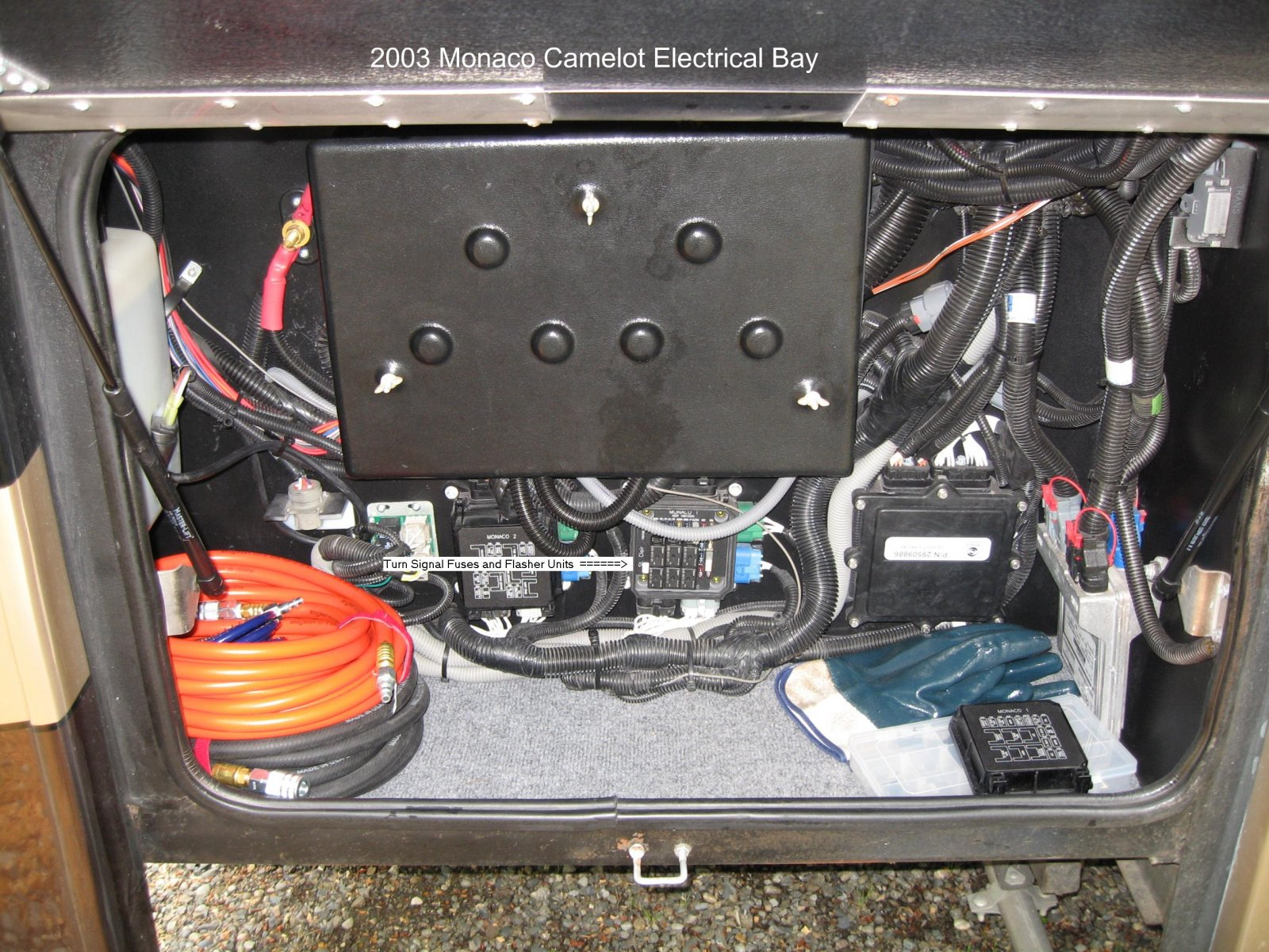 No Turn Signals Or Emergency Flashers Irv2 Forums Monaco Rv Dash Ac Wiring Diagram Click Image For Larger Version Name Img 1253 1 Views 252 Size
