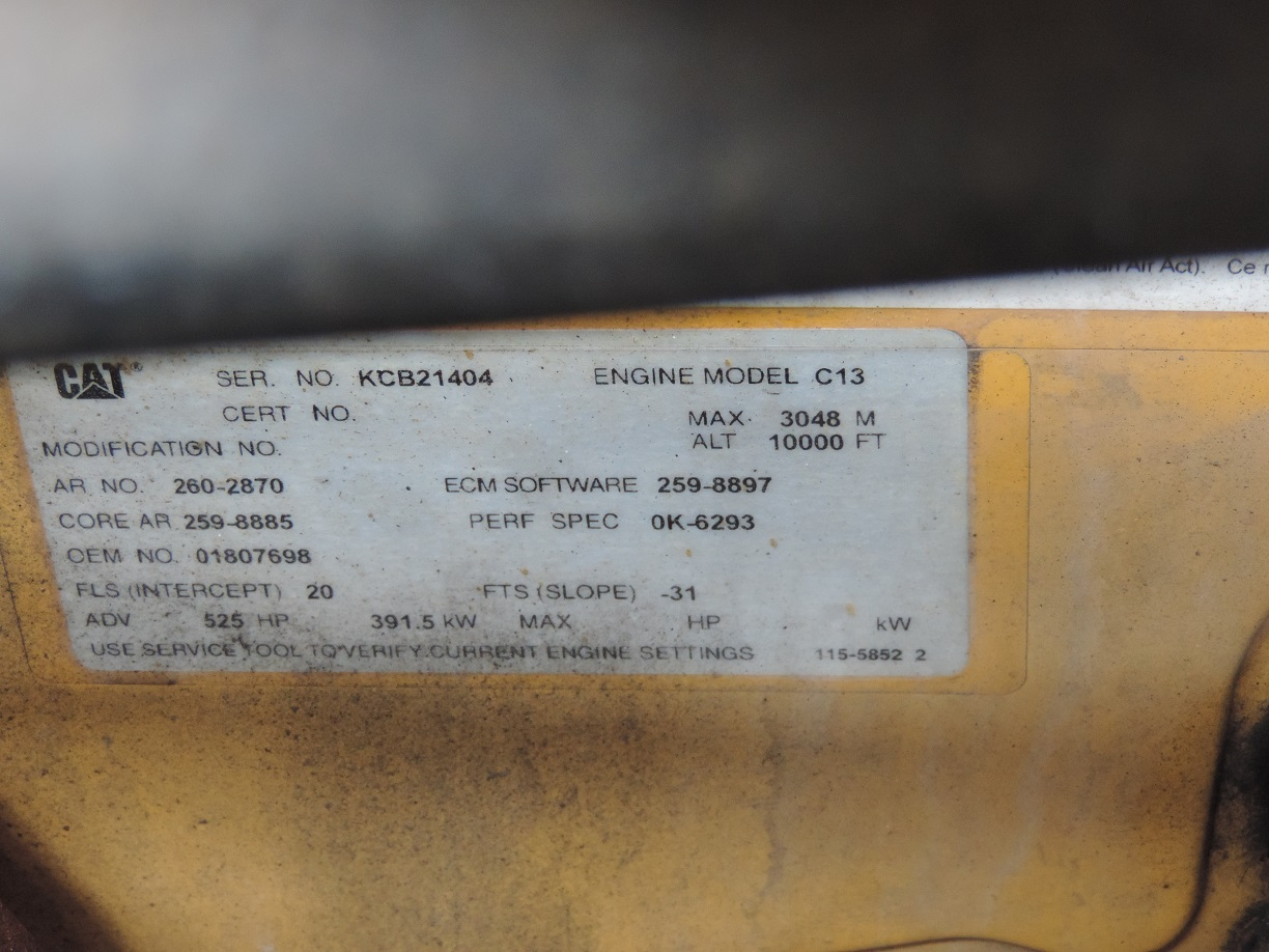 Click image for larger version  Name:CAT Engine Data plate.JPG Views:18 Size:291.3 KB ID:238037