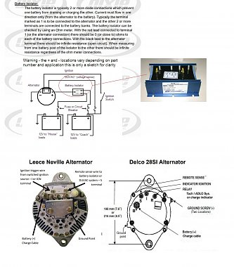 [SCHEMATICS_4LK]  Duvac Alternator - iRV2 Forums | Delco 28si Alternator Wiring Diagram |  | iRV2 Forums
