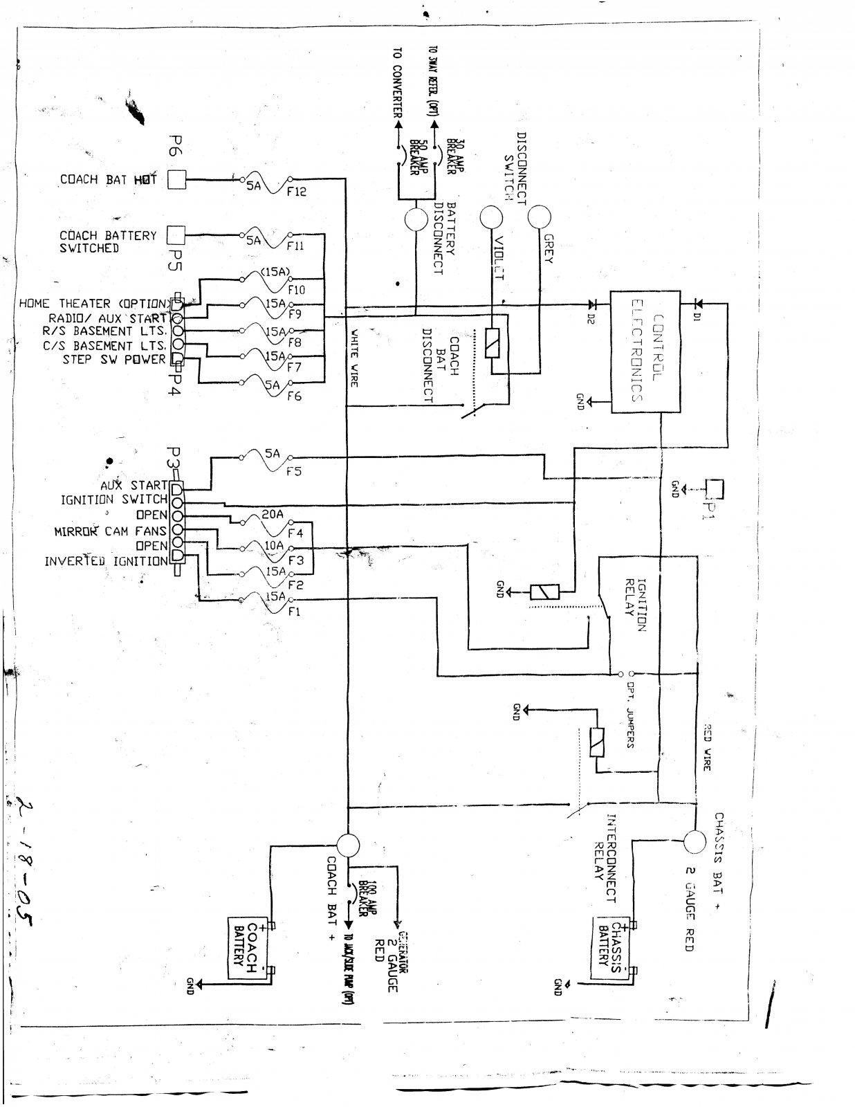 2000 Winnebago Wiring Diagram Winnebago Electrical