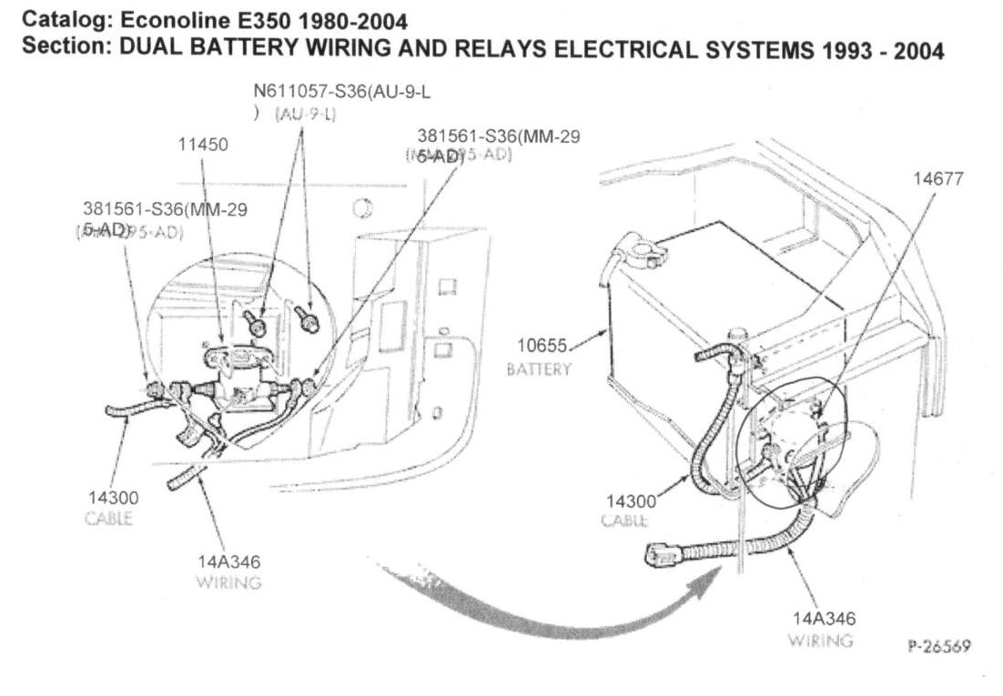 Auxiliary Battery Wiring Diagram 1985 Ford Diagrams Dual System Solenoid Location Of The Aux Charge Relay Irv2 Forums 12v