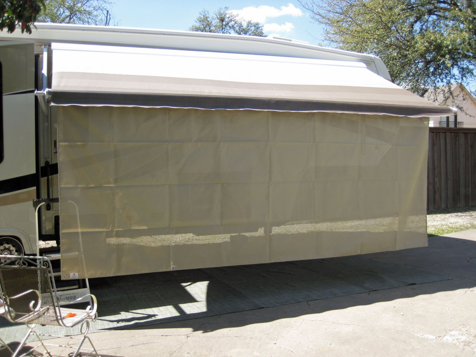 Prompt Rv Sunscreen Awning Mat And Awning Screen Irv2