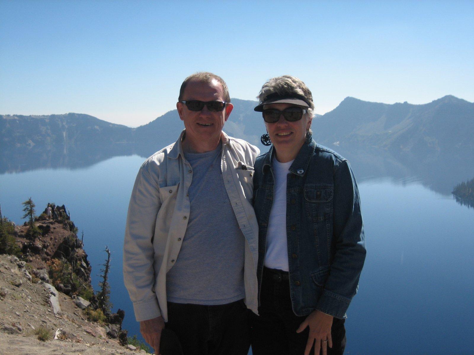 Click image for larger version  Name:2012 09 26 Eric Ginny La Juene at Crater Lake Oregon.jpg Views:35 Size:184.9 KB ID:37218