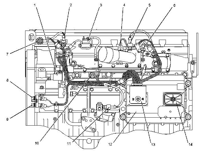 F750 3126 Cat Wiring Diagram - Wiring Diagrams F Cat Wiring Diagram on