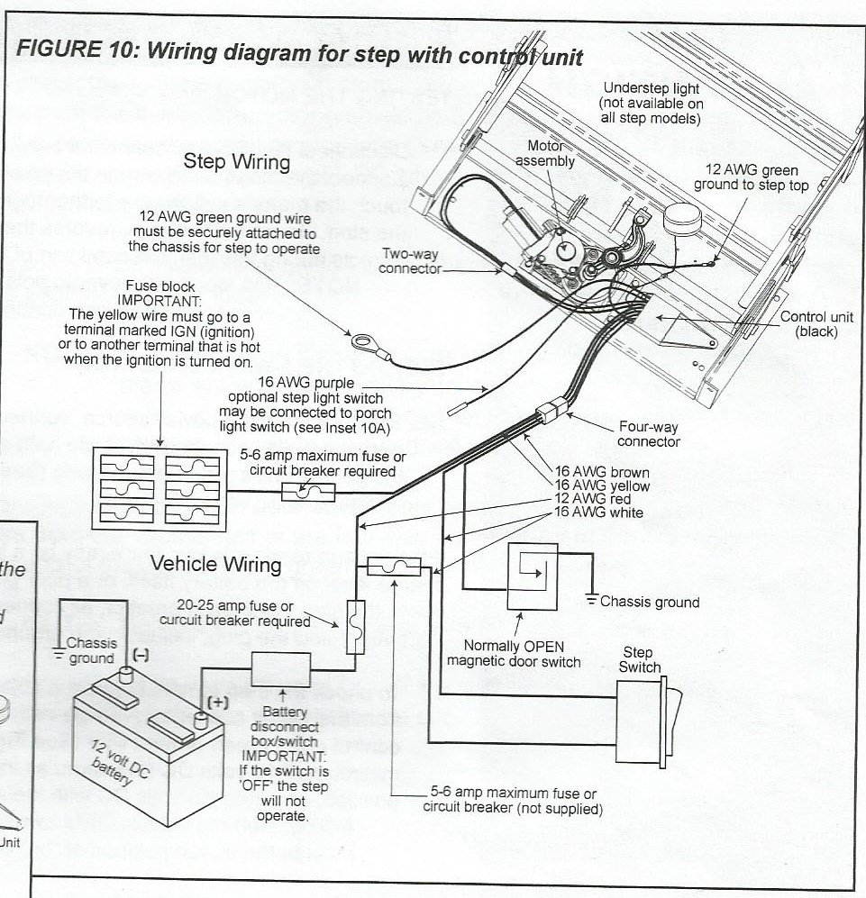 on kwikee step using plunger switch wiring diagram