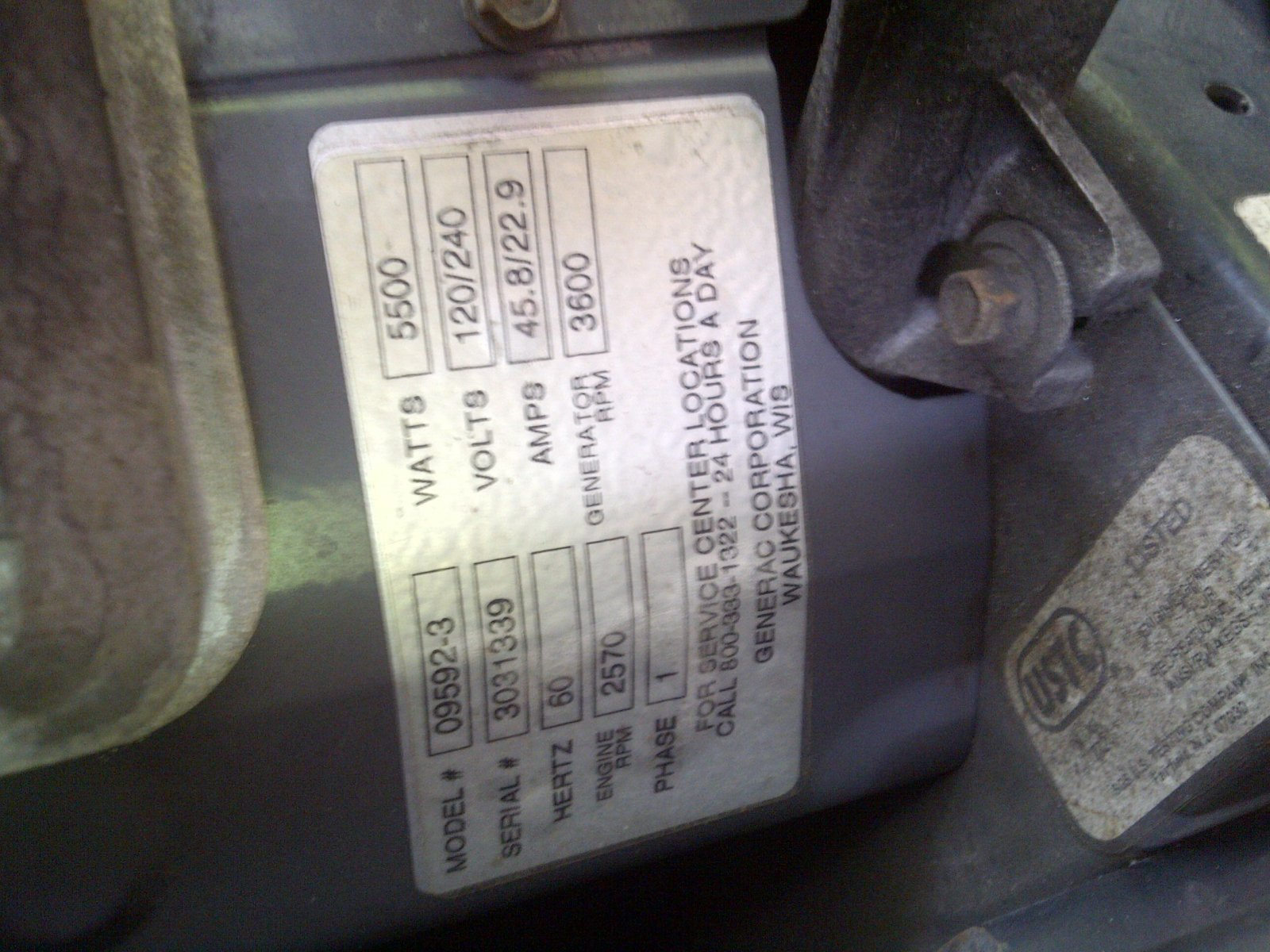 Generac Fuel Filter 87769   Wiring Library