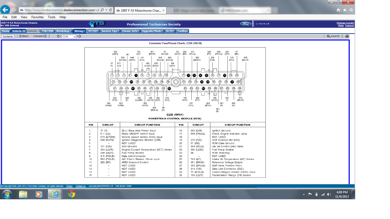workhorse wiring diagram motorhome wiring diagram okay i solved the auto park brake problem page 2 irv2 forums