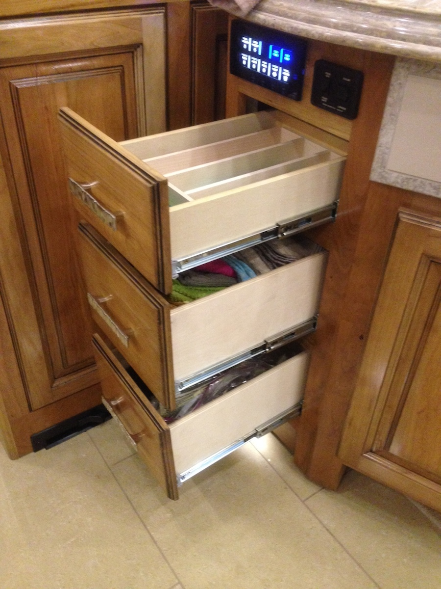 """Click image for larger version  Name:Kitchen - 3 - 8"""" wide 14"""" deep Drawers.jpg Views:101 Size:385.5 KB ID:53489"""
