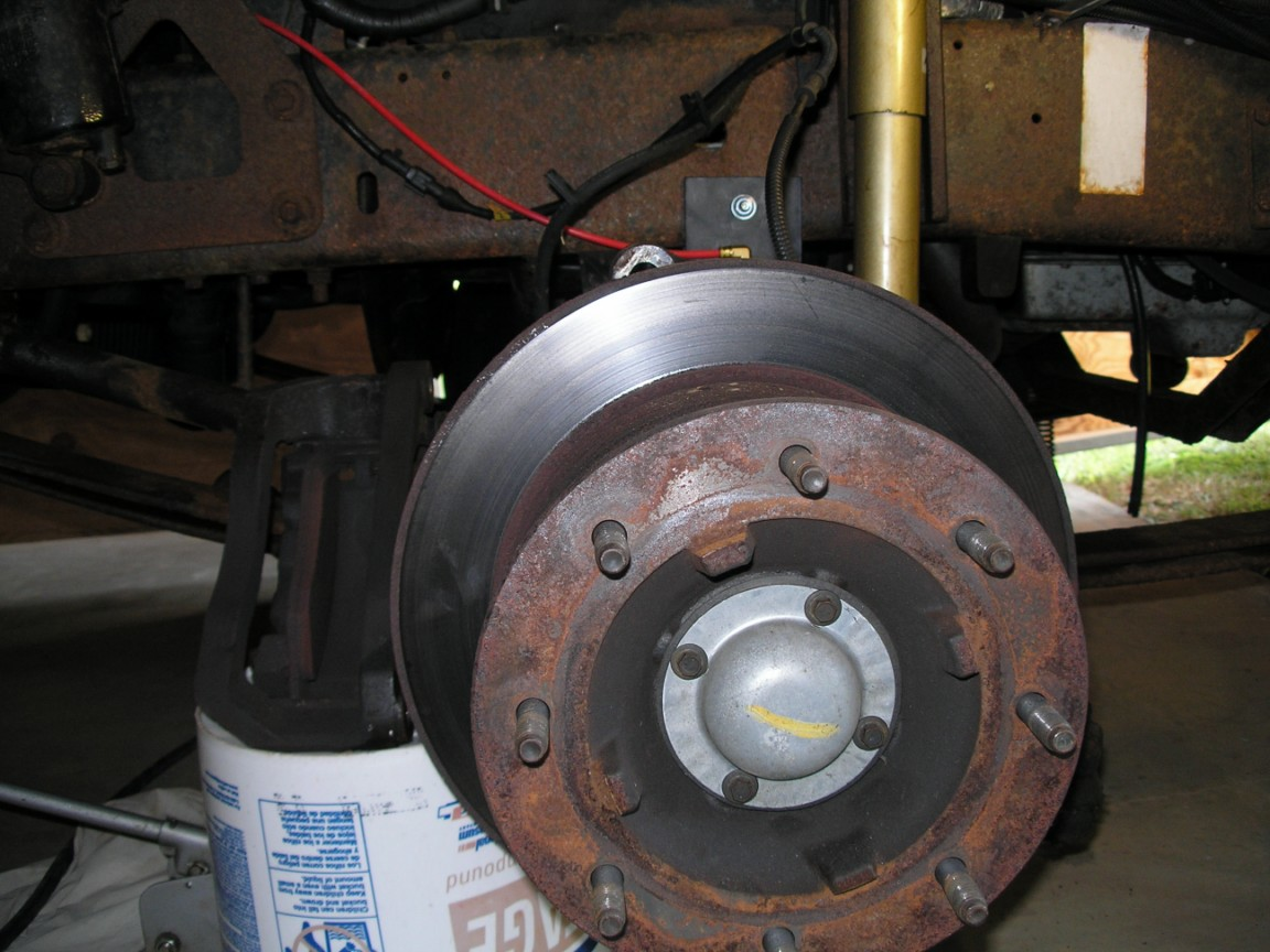 Rear brake rotors replacement - iRV2 Forums