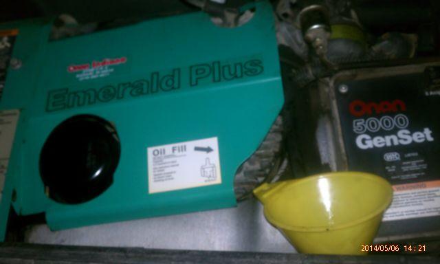 Onan emerald plus oil filter? - iRV2 Forums