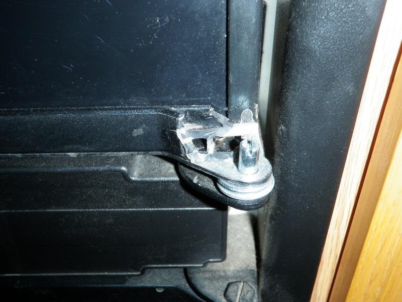 Repair plastic fridge door? - iRV2 Forums