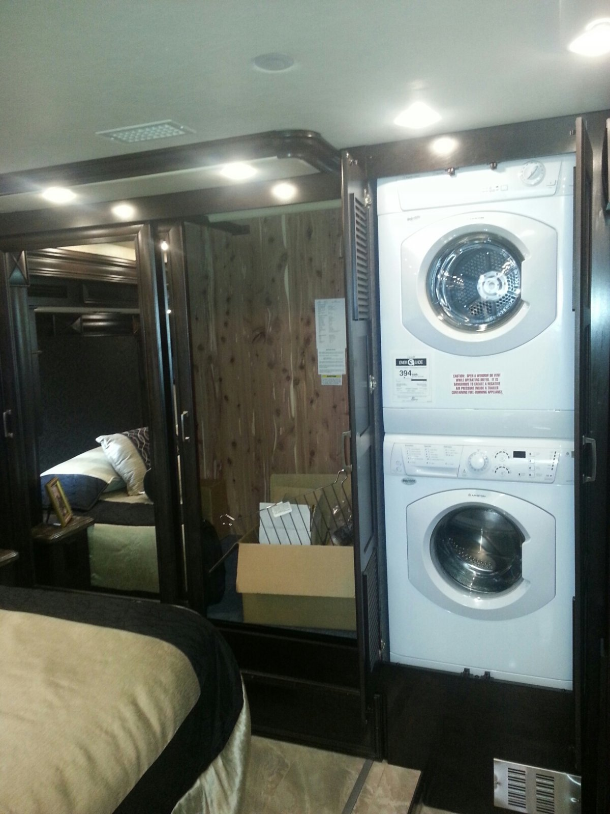 Click image for larger version  Name:2015 American Coach Revolution 39A -Washer Dryer and Closet in Rear.jpg Views:122 Size:230.0 KB ID:73869