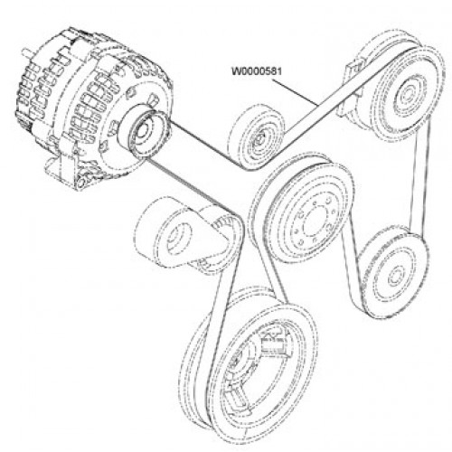 2006 Dodge Ram 2500 5 7l Serpentine Belt Diagram