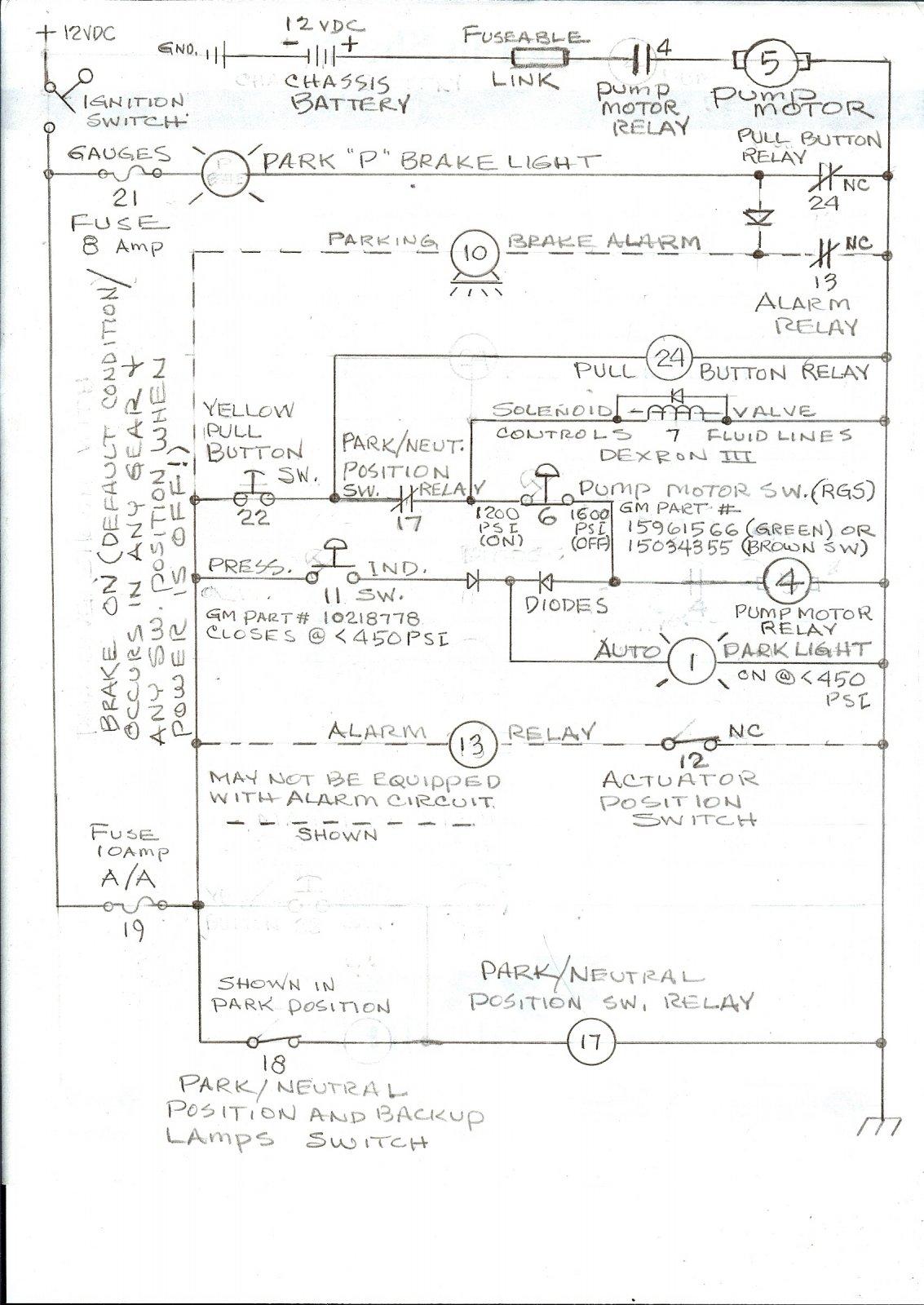 Auto Park Wiring Diagram