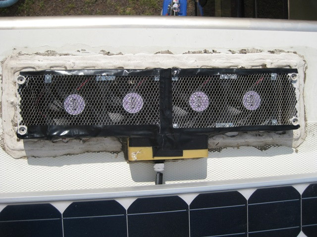 Adding Fans to back of fridge - iRV2 Forums