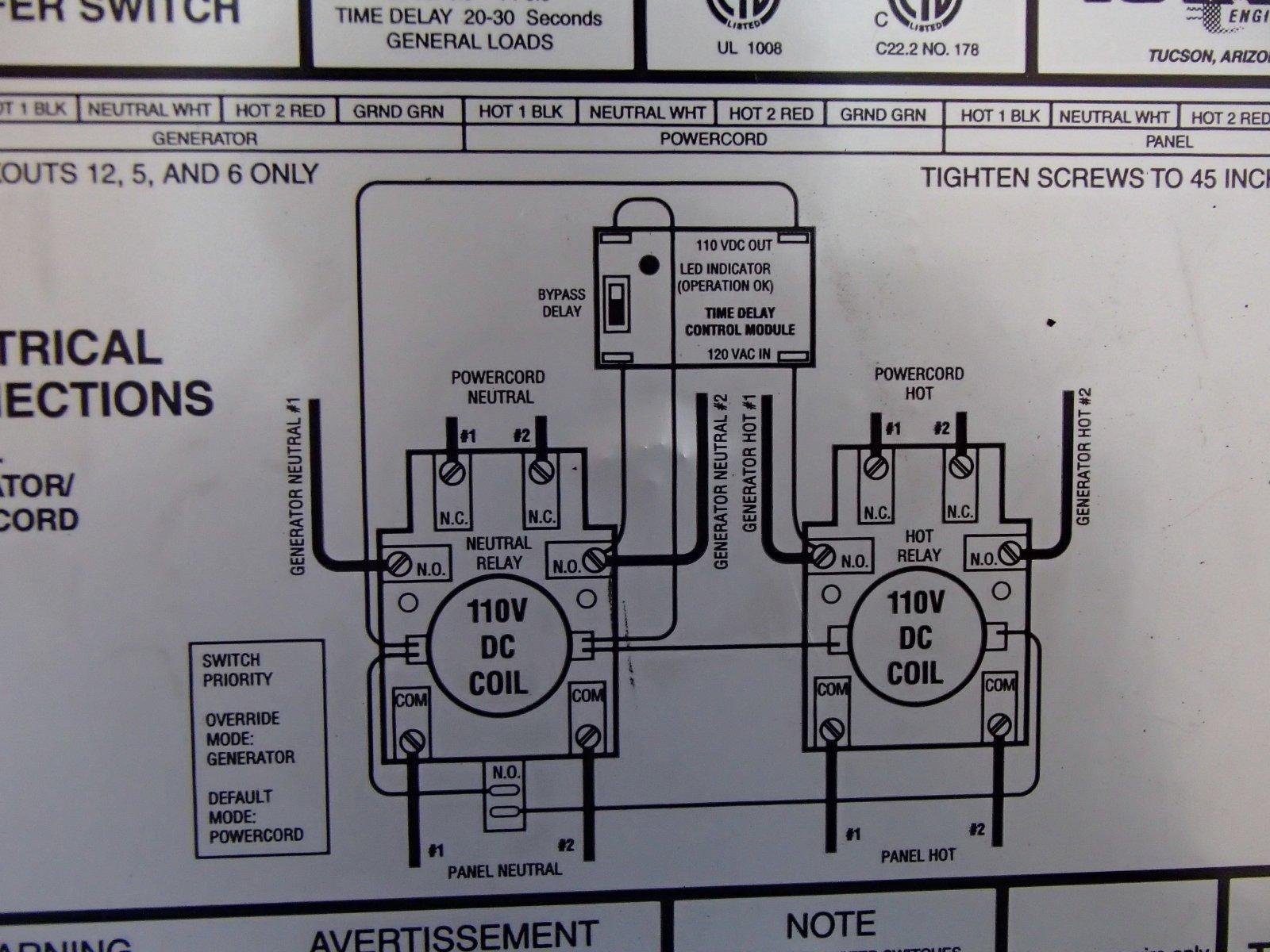 Onan Generator Transfer Switch Wiring Diagram - Best Wiring Diagram ...