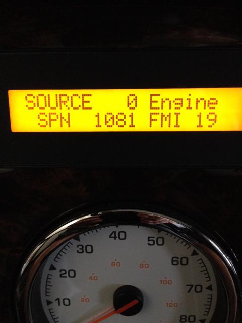 Check Engine light - 1081 Code - More - iRV2 Forums