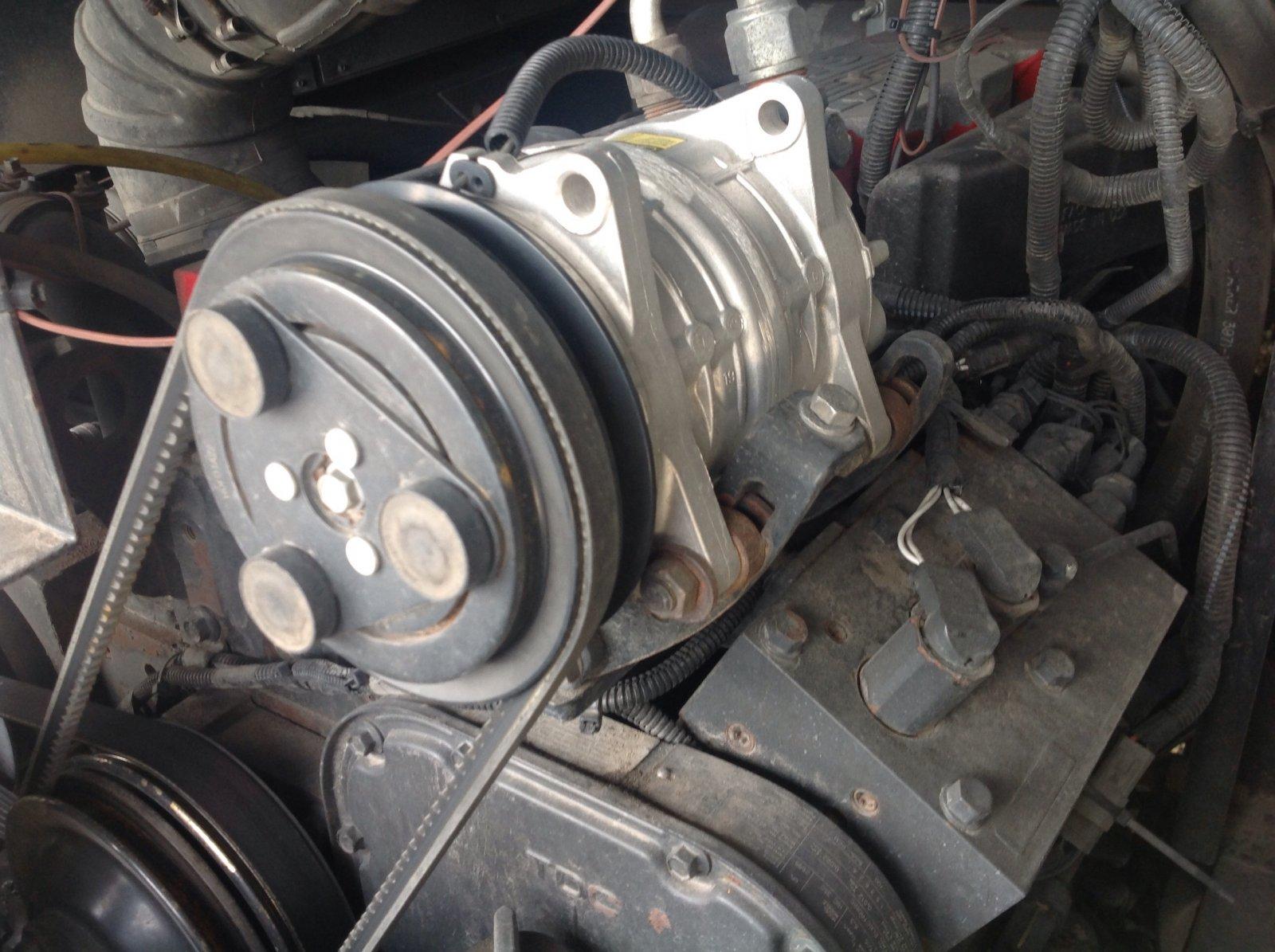 Can't loosen A/C compressor v belt tensioner - iRV2 Forums