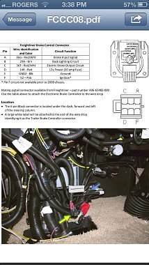 freightliner brake light wiring diagram how to install a electric brake controller in a freightliner  install a electric brake controller