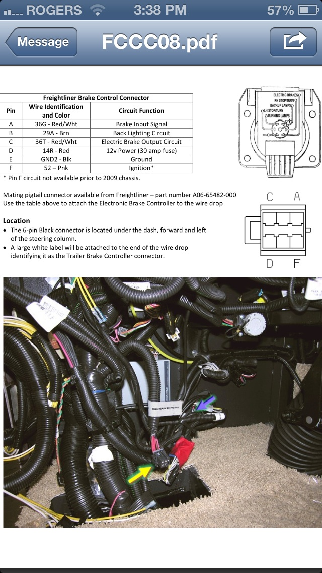 Wiring Diagram For Electric Brake Controller