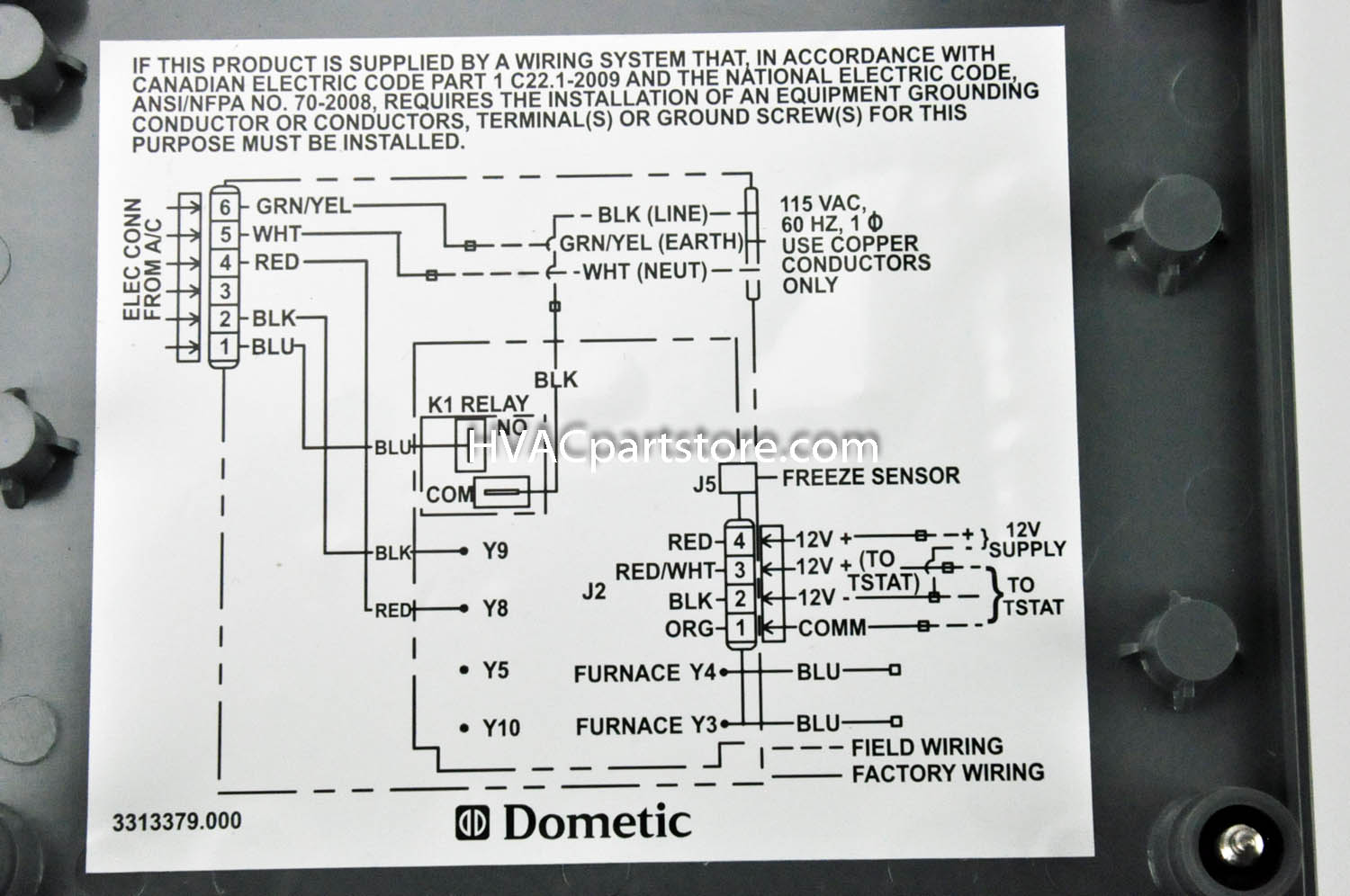 Home Thermostat Wiring Honeywell Hvac Diagram Air Conditioning Conditioner Signals And