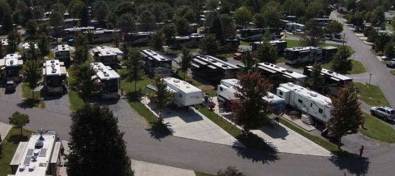 Coronavirus changed RV park life