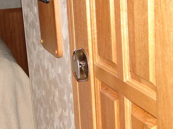 Low Profile Doors : Low profile interior door knob the