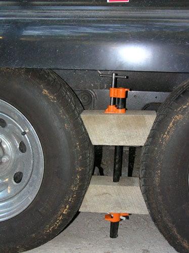 Home Made Wheel Chocks - iRV2 Forums