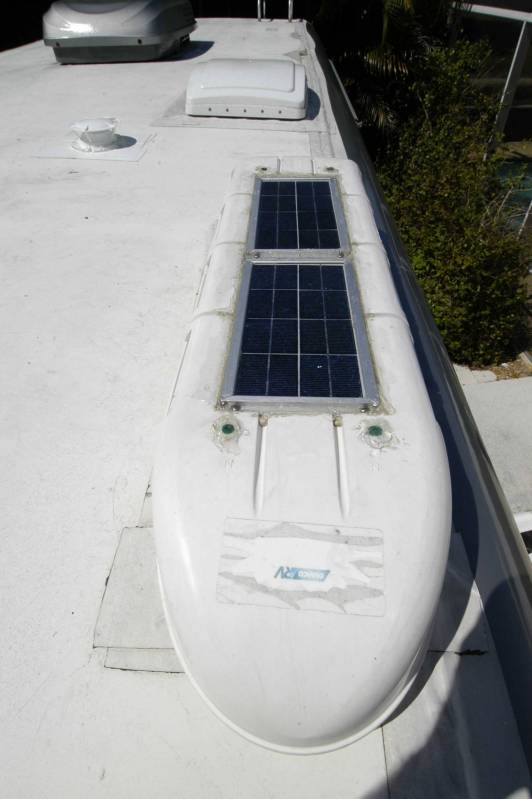 Camco Solar Pannel 2 Roof Vent Refer Fans Irv2 Com Rv