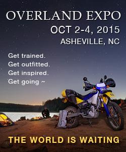overland RVing