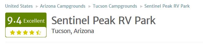 Tucson Sentinel RV Park