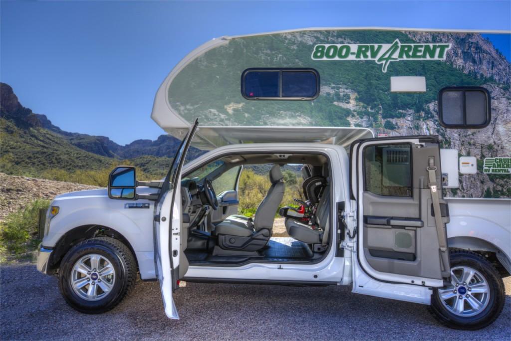 truck camper rental