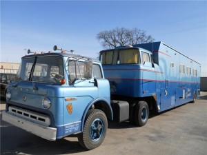1970 Camelot Cruiser RV Ford C 900
