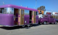 purple trailer