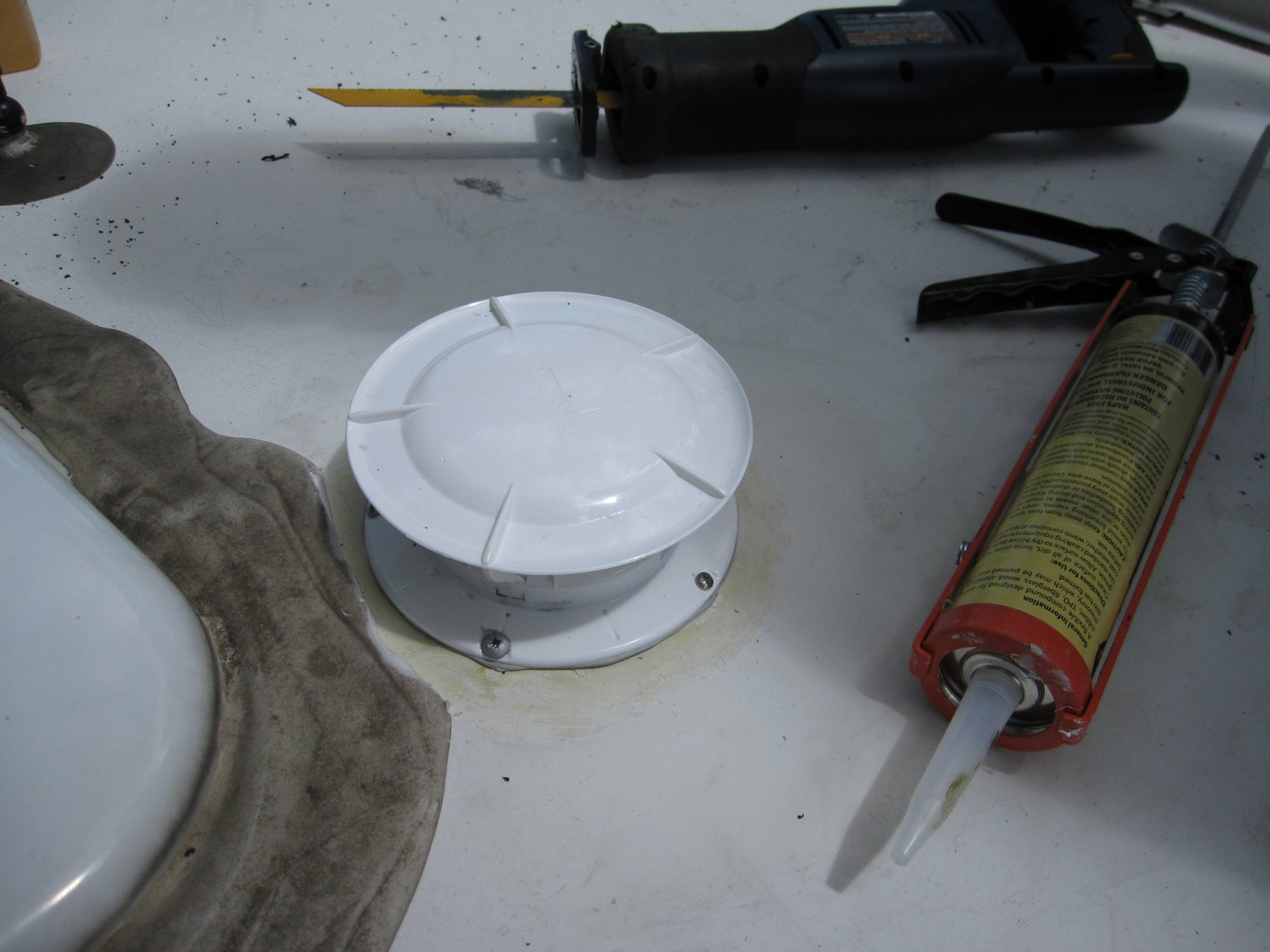 Installing The 360 Rv Universal Holding Tank Roof Vent